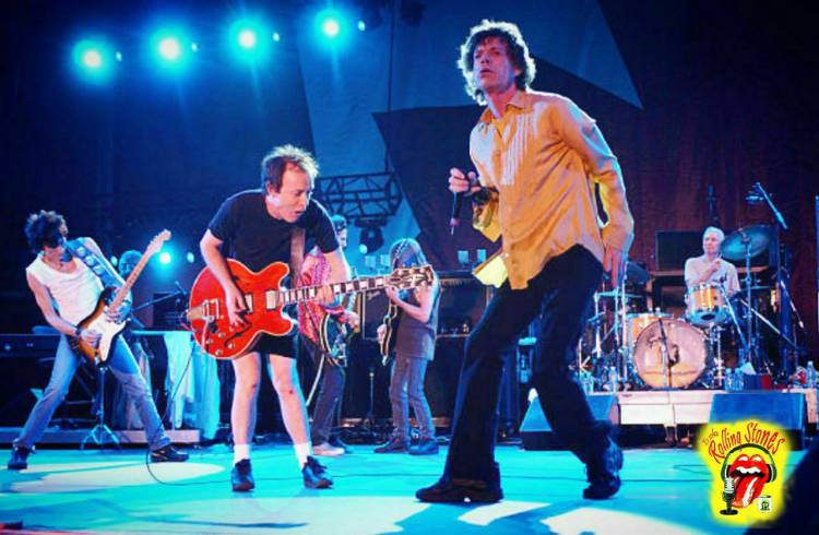 La vez que los Stones dieron un show por los infectados de un Virus Chino