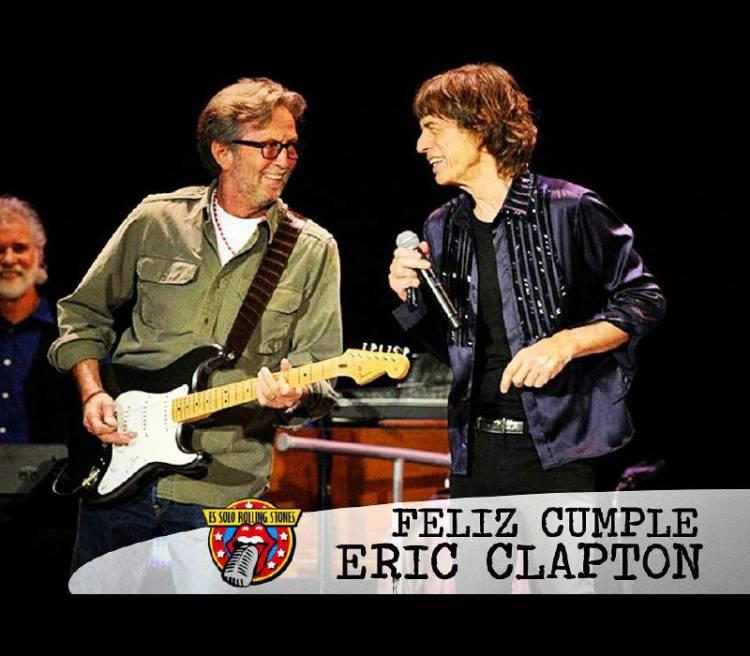 Eric Clapton y los Stones:  Una larga amistad