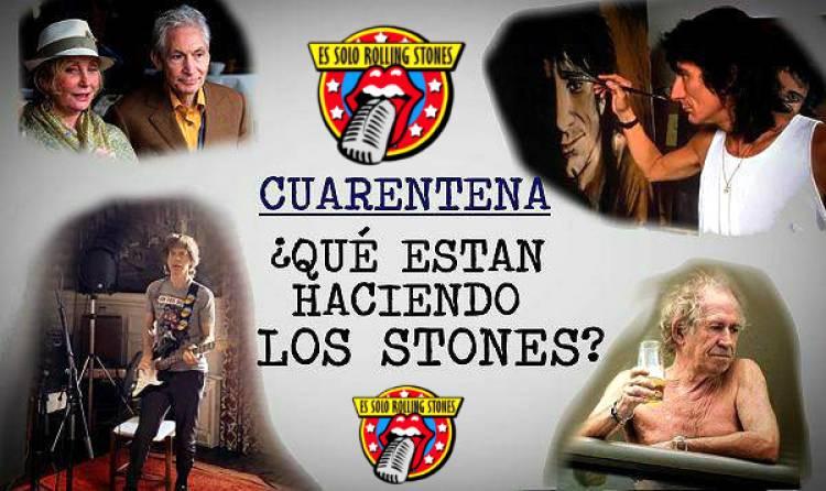 Cuarentena: ¿Qué estan haciendo los Rolling Stones?