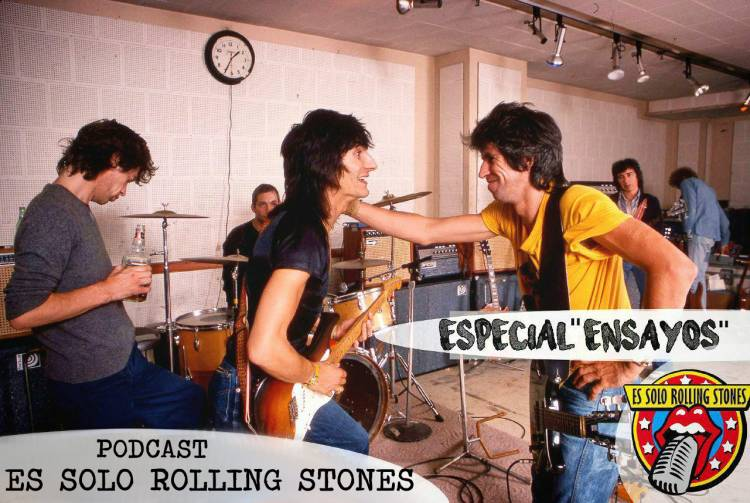 """Escucha el episodio """"Ensayos de los Rolling Stones"""""""