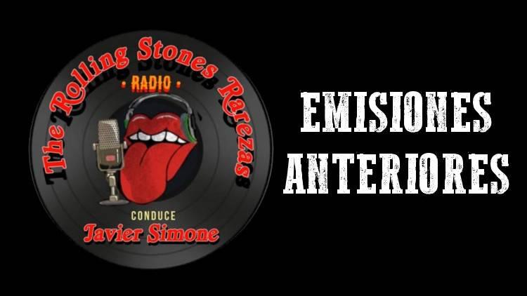 Emisiones Anteriores - The Rolling Stones Rarezas