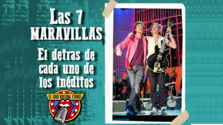 """Escucha la emisión """"Las 7 'nuevas' canciones ineditos de los Rolling Stones"""""""