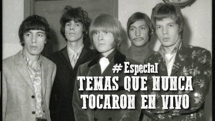 """Escucha el especial """"TEMAS QUE NUNCA TOCARON EN VIVO"""""""