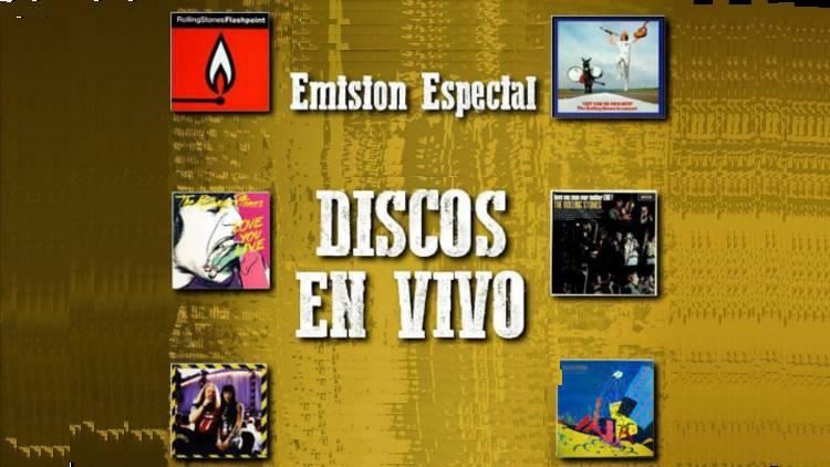"""Escucha el especial """"DISCOS EN VIVO"""""""