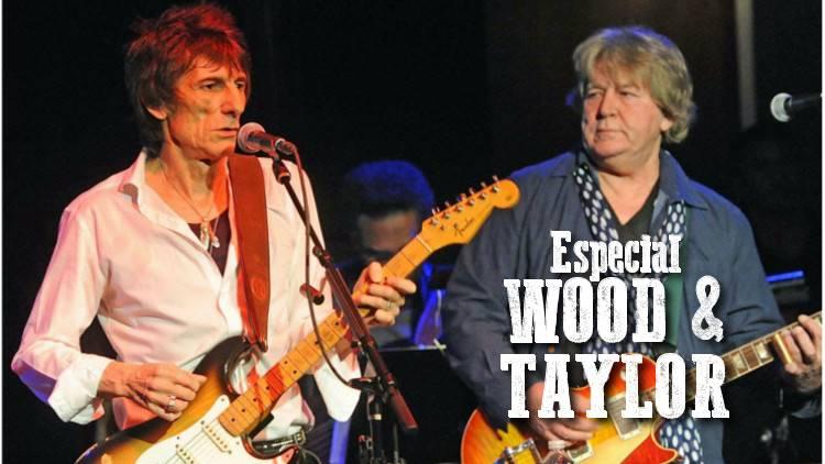 """Escucha el especial """"RON WOOD & MICK TAYLOR"""""""